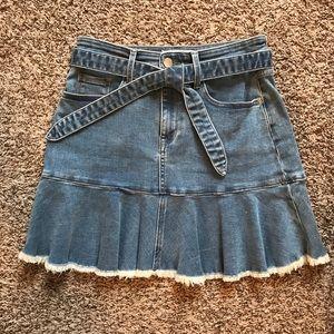 Juicy couture denim skirt 27 blue